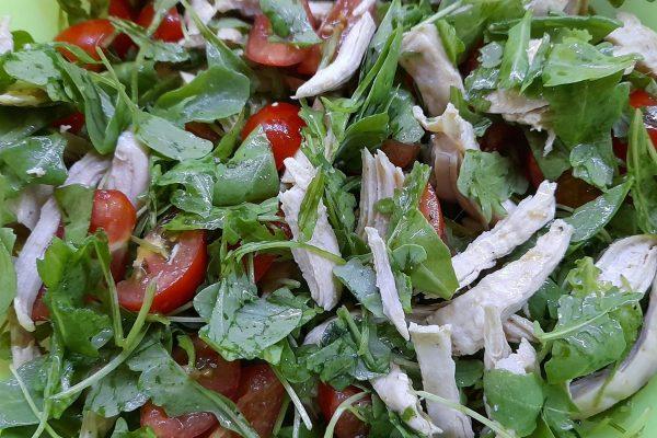 insalata di pollo tricolore